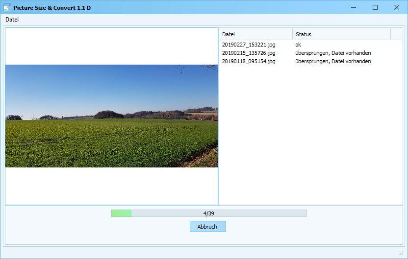 Picture Size - Bildoptimierung