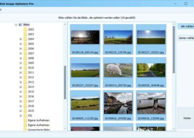 Web Image Optimizer - Fotos optimieren