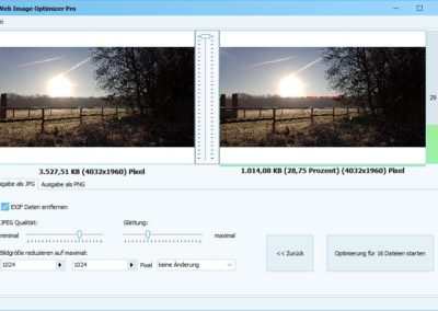 Web Image Optimizer Bildoptimierung