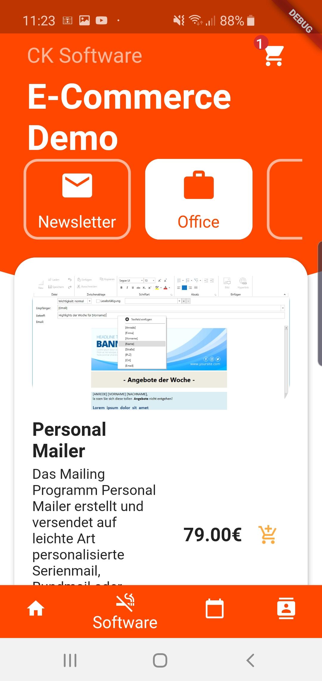 App Entwicklung E-Commerce