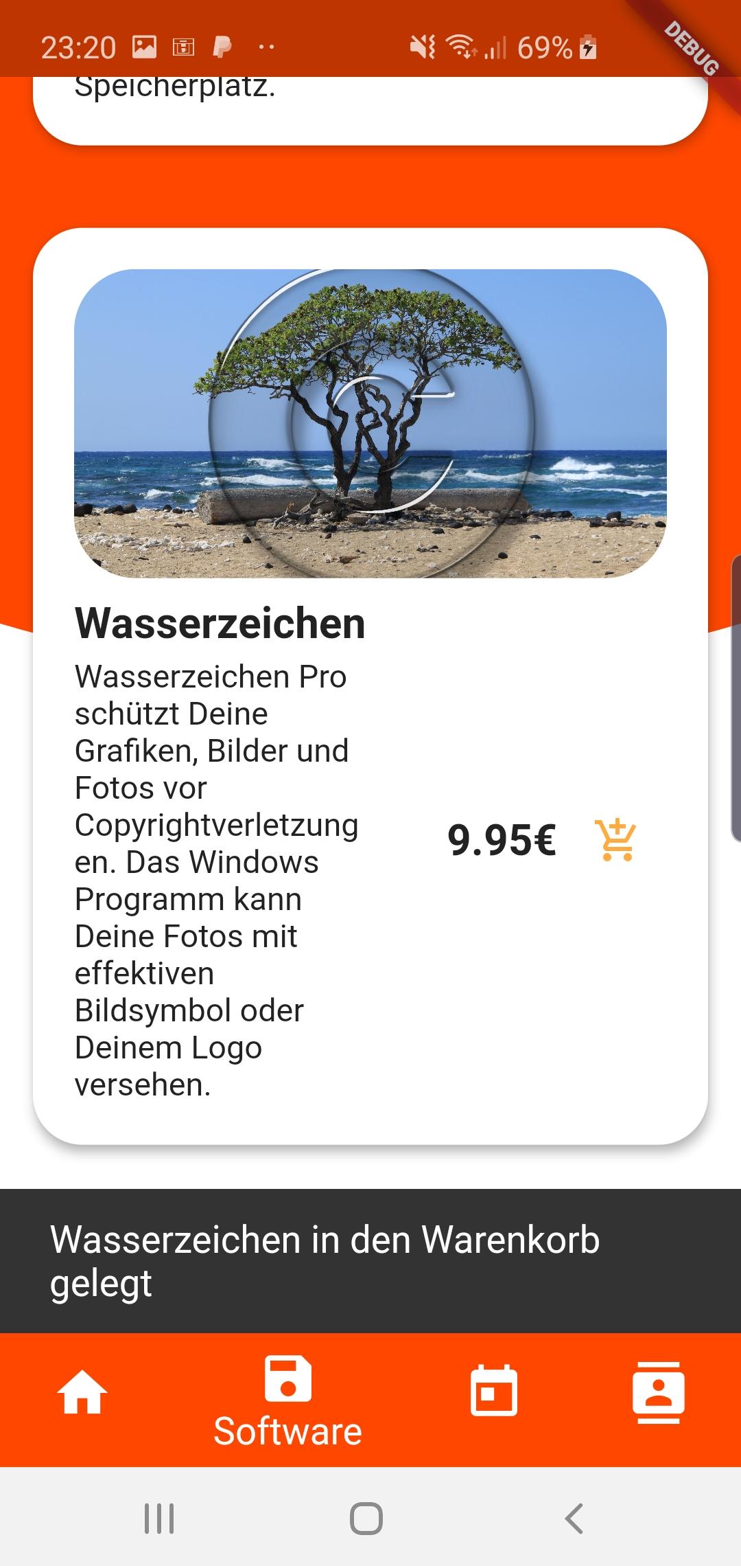 Individuelle Shop App für Android und IOS 2