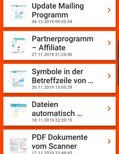 Softwareentwicklung Android - News