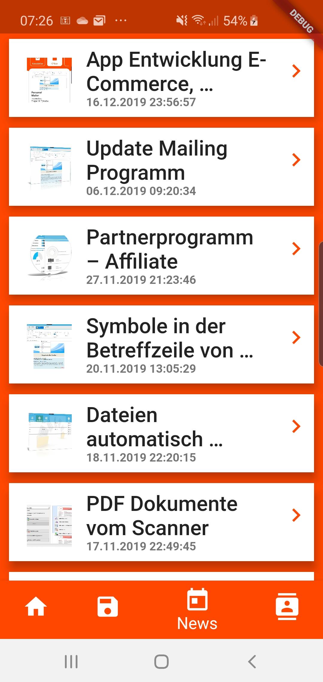 App Entwicklung E-Commerce, Shopping App 3