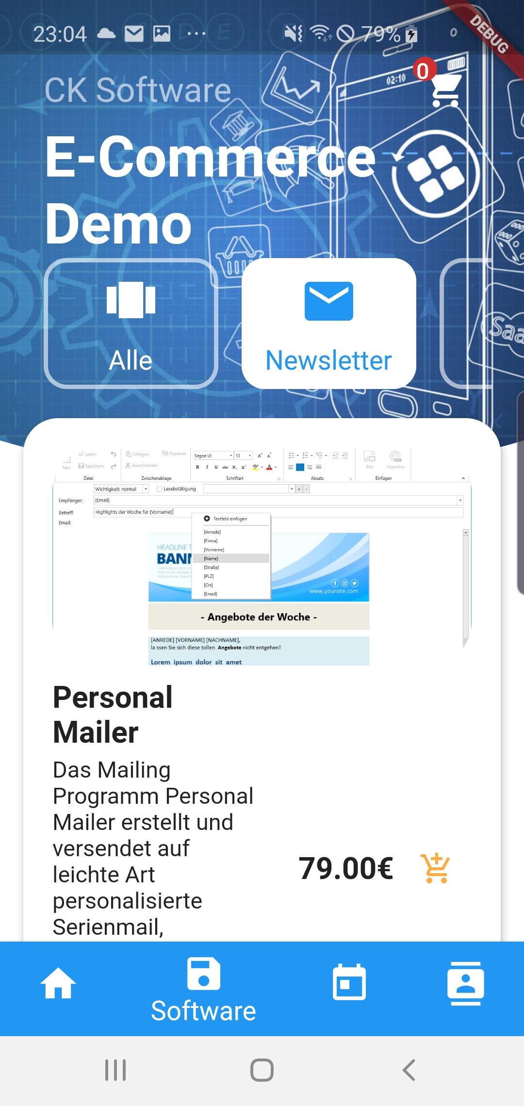 Individuelle Shop App für Android und IOS 1