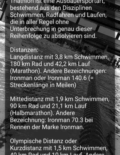 App Entwicklung - Triathlon Termine - Going Tough 5