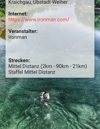 App Entwicklung - Triathlon Termine - Going Tough 7