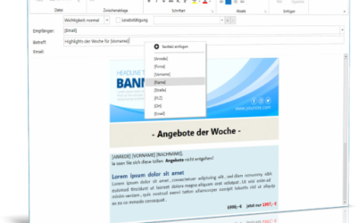 Neue Programmversion Personal Office Mailer